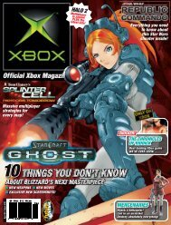 things you don't know don't know - Official Xbox Magazine