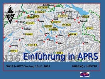 Einführung in APRS - Swiss ARTG