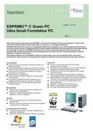 FSC ESPRIMO C5720, iQ33