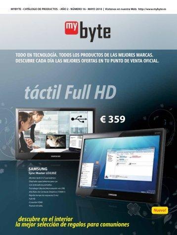 táctil Full HD - MYBYTE.ES