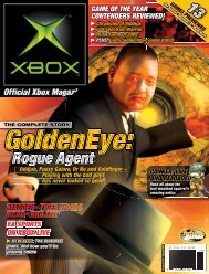 GoldenEye - Official Xbox Magazine
