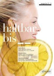 magazin 01-11 - Frische Kosmetik
