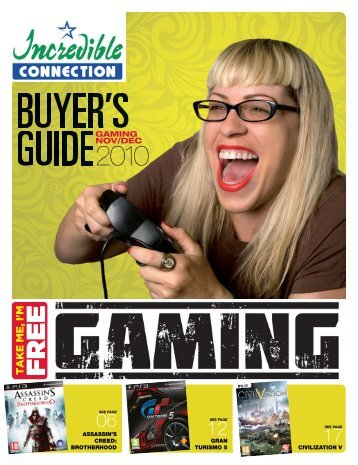 Gaming Buyers Guide.indd - Incredible connection