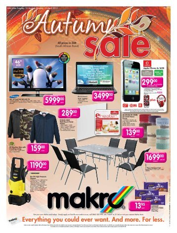 Valid From Tuesday 10 April To Monday 16 - Makro