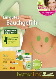 betterlife Angebote