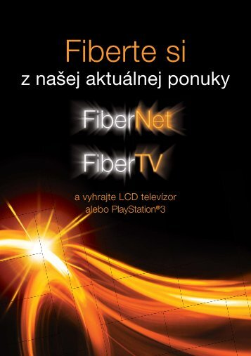 orange ftth MGM mailing letak A5.indd - Orange Slovensko, as