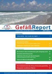 GefäßReport Frühjahr / Sommer 2008 - Deutsche Gefäßliga eV