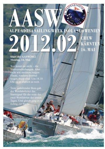 alpe adria sailing week isola slowenien kärnten 16. mai - YCA Crew ...