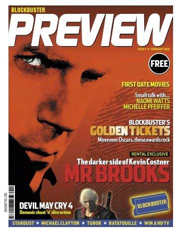 Blockbuster Preview - Mark Harris