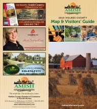 map & Visitors' Guide - Amish Country