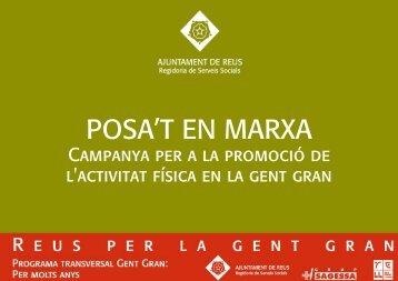 Posa't en marxa, campanya per a la - Ajuntament de Reus