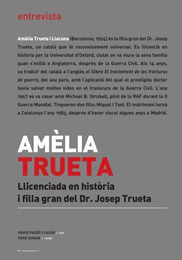 Llicenciada en història i filla gran del Dr. Josep ... - Revista de Girona