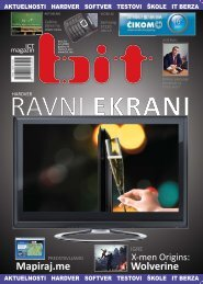 Broj: 34 jun 2009 - ICT magazin BIT
