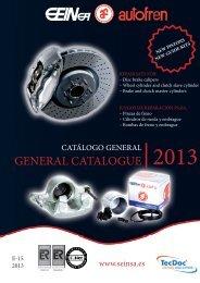 GENERAL CATALOGUE 2013 - Seinsa