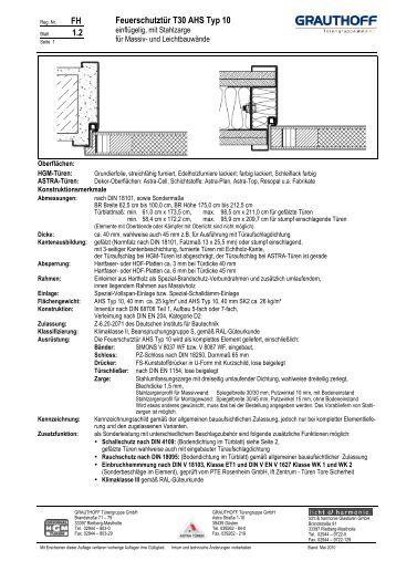 13 1 einbauanleitung holzzarge t30 rs tuer ahs. Black Bedroom Furniture Sets. Home Design Ideas