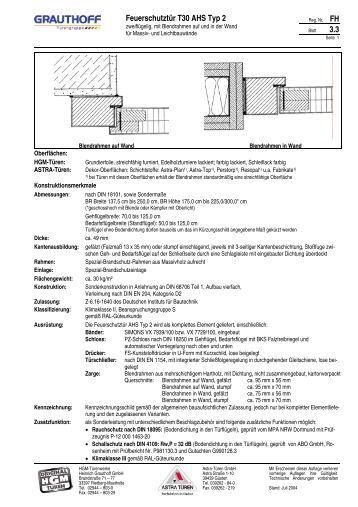 10 2 einbauanleitung holzzarge t30 rs tuer ahs. Black Bedroom Furniture Sets. Home Design Ideas