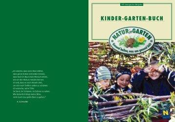 KINDER-GARTEN-BUCH - Natur im Garten