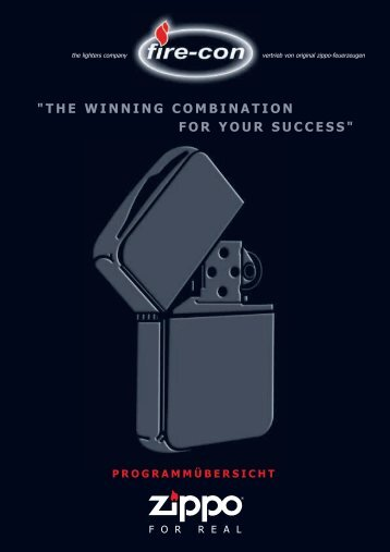 """THE WINNING COMBINATION FOR YOUR SUCCESS"" - fire-con"