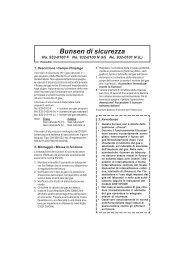 Istruzioni d´uso - laboshop