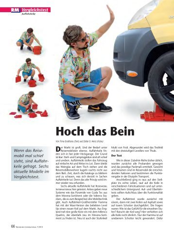 Artikel aus Reisemobil International - Reisemobil Interaktiv