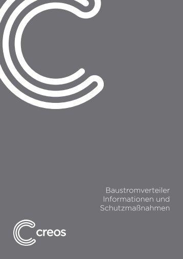 Baustromverteiler Informationen und Schutzmaßnahmen - Creos