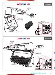 2012 Fiamma General Spare Parts Catalogue - Outdoor Bits
