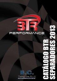 Catálogo BTR Separadores 2013 - BC Tuning