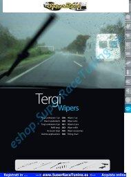 Catalogo PDF Accessori AUTO TERGICRISTALLO ... - SUPERRACE