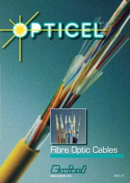 Fibre optic cables - Cables Britain Ltd