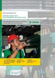 Scarica il Rapporto DEKRA sull'affidabilità dell'usato
