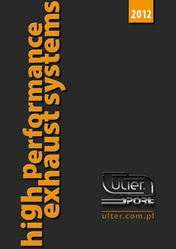 Katalog 2012 - Ulter