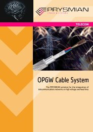 OPGW Cable System - Prysmian