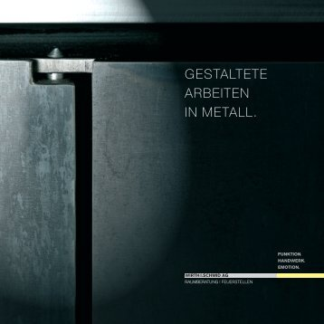 W&S Katalog 2010 - Wirth & Schmid AG, Raumgestaltung und ...