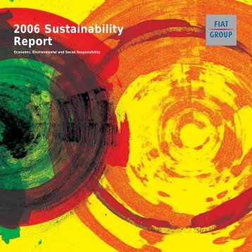 2006 Sustainability Report - FIAT SpA