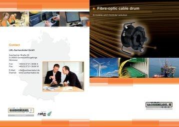 Fibre-optic cable drum - Sachsenkabel.de