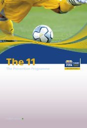 FIFA The 11 Injury Prevention Programme - Booklet - KORT
