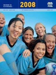 Informe de Actividades 2008 - FIFA.com