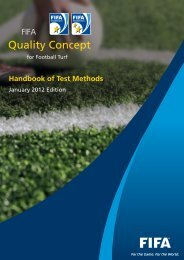 Handbook Of Test Methods January 2012 Edition - FIFA.com