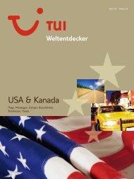 TUI - Weltentdecker: Amerika - Winter 2009/2010 - TUI.at