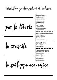 Le proposte radicali in materia di economia.pdf - Associazione ...