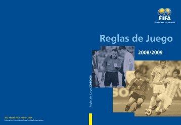 reglamento oficial de futbol fifa - Escuela Carmen Vera Arenas