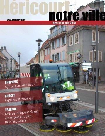 Avril mai juin 2012 - Héricourt