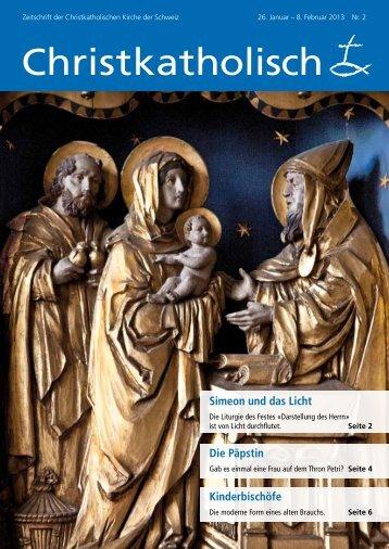 Die Päpstin - Christkatholische Kirche der Schweiz