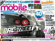 Pocket Gamer Guide to Mobile Games :: ISSUE 3 :: T-Mobile Edition