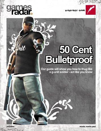 50 Cent Bulletproof - GamesRadar