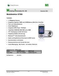 Mobiltelefon S700i - Mobileplus