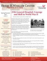 25th General Hospital - University of Cincinnati Libraries