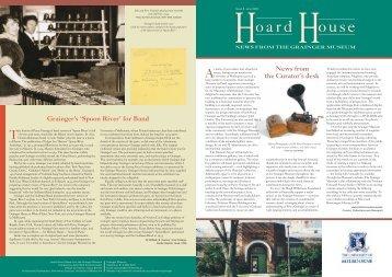 Hoard House 8 - Grainger Museum - University of Melbourne