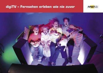 digiTV – Fernsehen erleben wie nie zuvor - Industrielle Betriebe ...