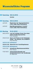 Programm - Fortbildungswoche Oberlech in Lech/Arlberg - Seite 4